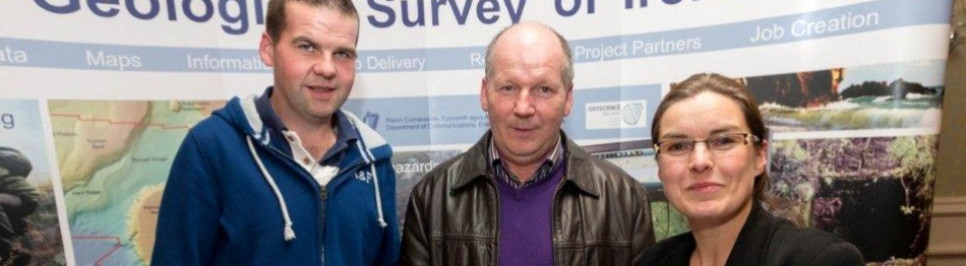 Peter Dempsey & Peter Dempsey of Dempsey's Well Drilling with Taly Hunter Williams – GSI